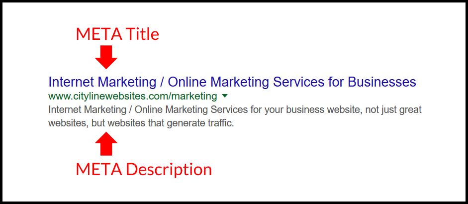 The Importance Of Good META Tags On A Website